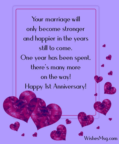 1st anniversary of marriage wishes-for-sister