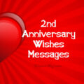 2nd Anniversary Wishes, Messages and Quotes
