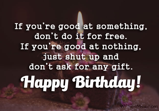 Funny Birthday Wishes, Messages and Quotes 2