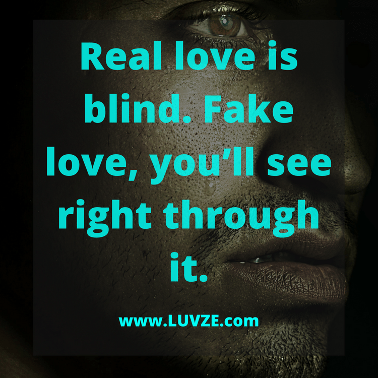 false quotes of love