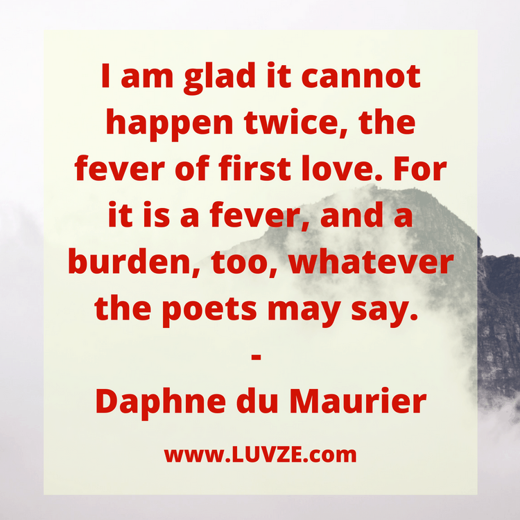 first quotes of love