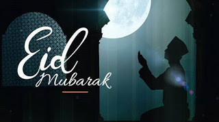 eid mubarak status in english