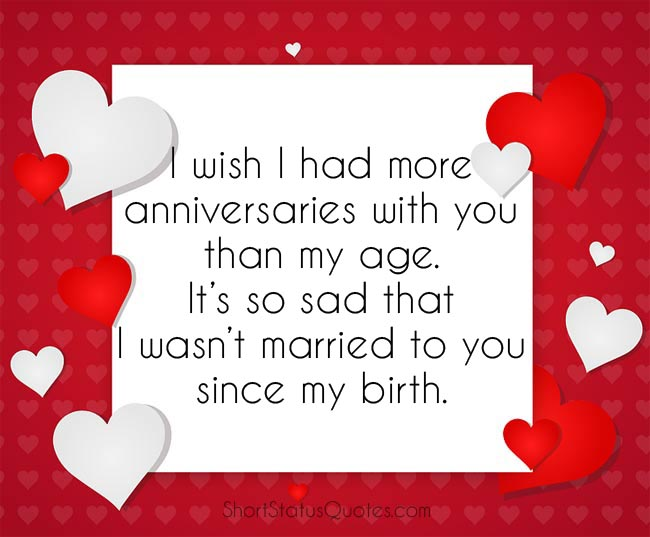 Funny Anniversary Captions