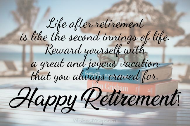 Best Retirement Wishes, Messages and Quotes 1