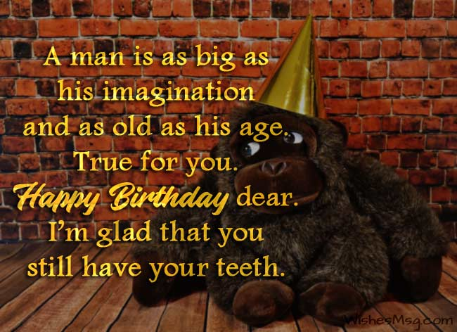 Funny Birthday Wishes, Messages and Quotes 1