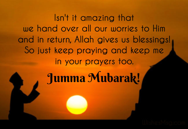 Jumma Mubarak Wishes, Messages, Duas and Quotes 1