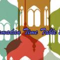 Ramadan Time table 2020