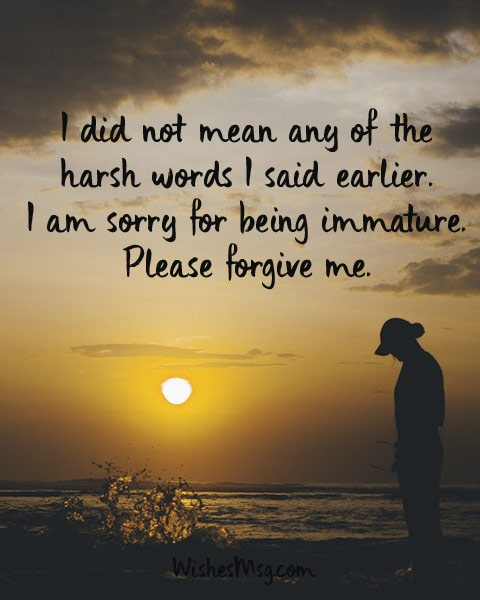 Sorry Messages For Girlfriend - Apology Messages for Her 1