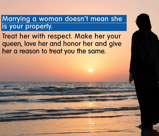 women rights as a wife in islam