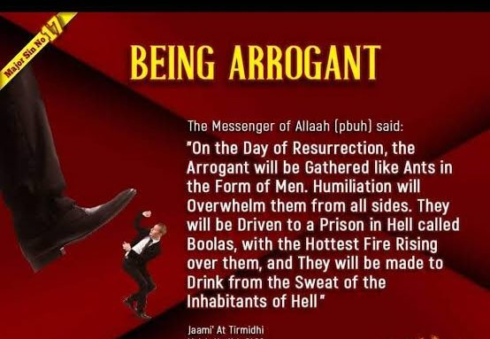 Arrogance in Islam (15)