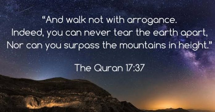Arrogance in Islam (32)
