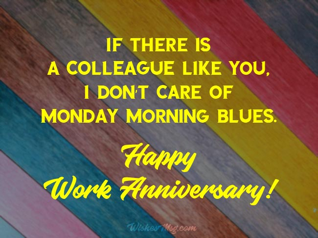 Work Anniversary Wishes and Appreciation Messages 2