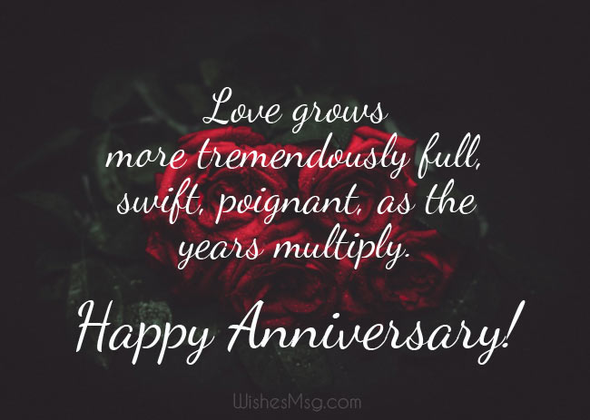 Happy Anniversary Wishes and Messages 1