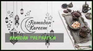 Ramadan Preparations 2019 CHECK LIST