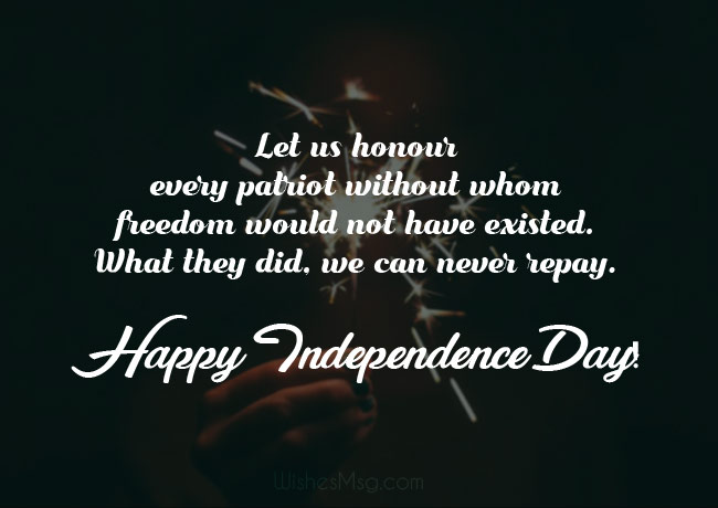 Independence Day Wishes, Messages & Quotes 3