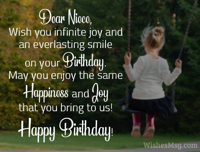 Birthday Wishes for Niece - Birthday Messages and Quotes 1