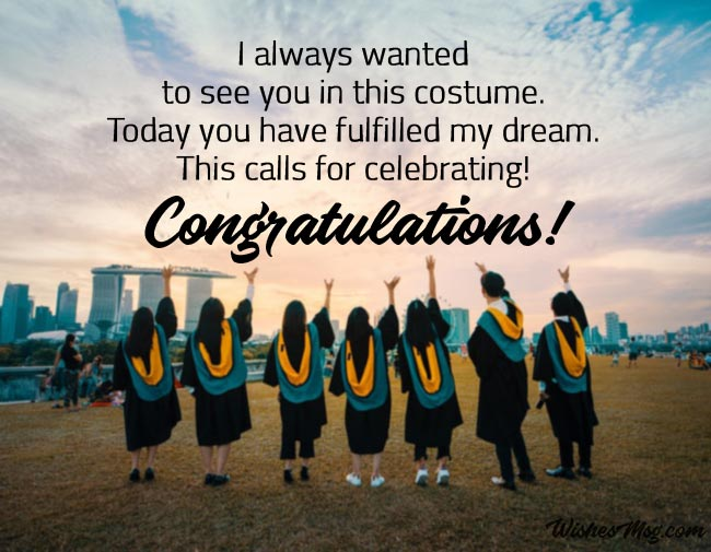Graduation Wishes for Sister - Congratulation Messages 1