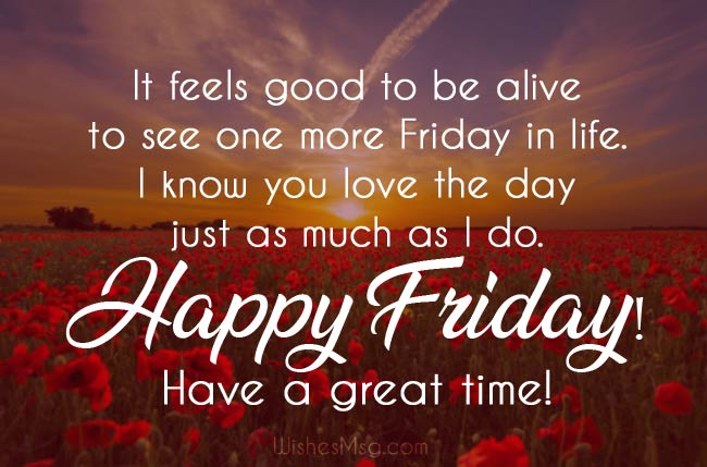 Friday Wishes Happy Friday Messages and Quotes - Friday Wishes : Happy Friday Messages and Quotes