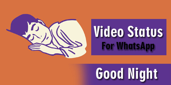 50+ Good Night WhatsApp Status Video Download Free HD