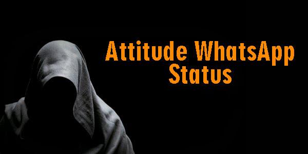 Best Attitude Whatsapp Status In English