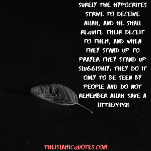 Hypocrisy in Islam quotes (6)