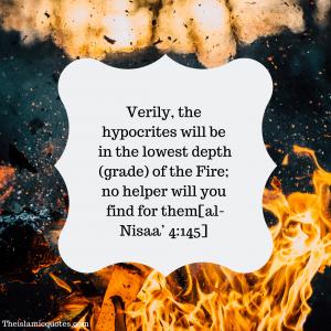 Hypocrisy in Islam quotes (18)