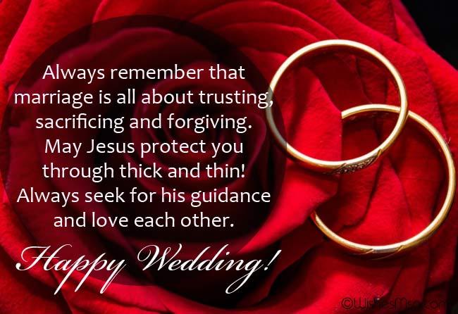 Religious wedding vows