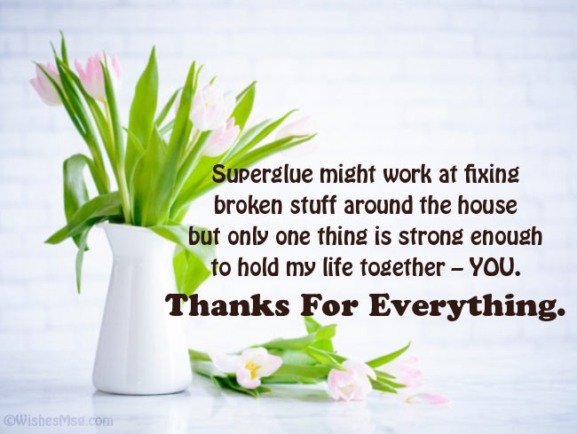 Creative Thank You Messages for Girlfriend