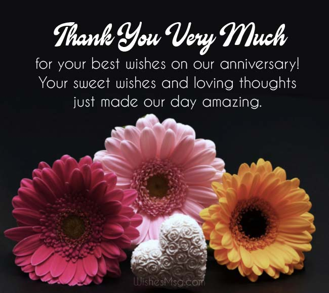 Thank you message for birthday greetings