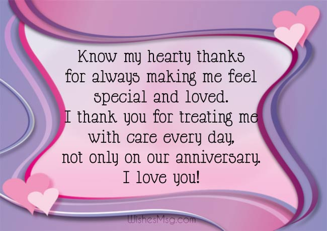 Thank You Messages For Anniversary Wishes Gifts 2021