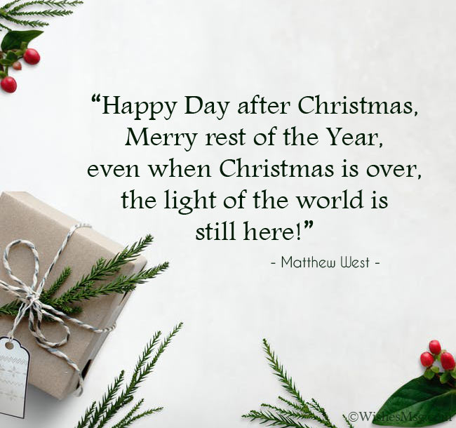 Quotes about Boxing Day