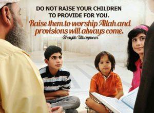 Raising children in islam (1)