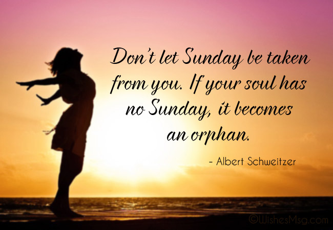 Quotes on Sunday