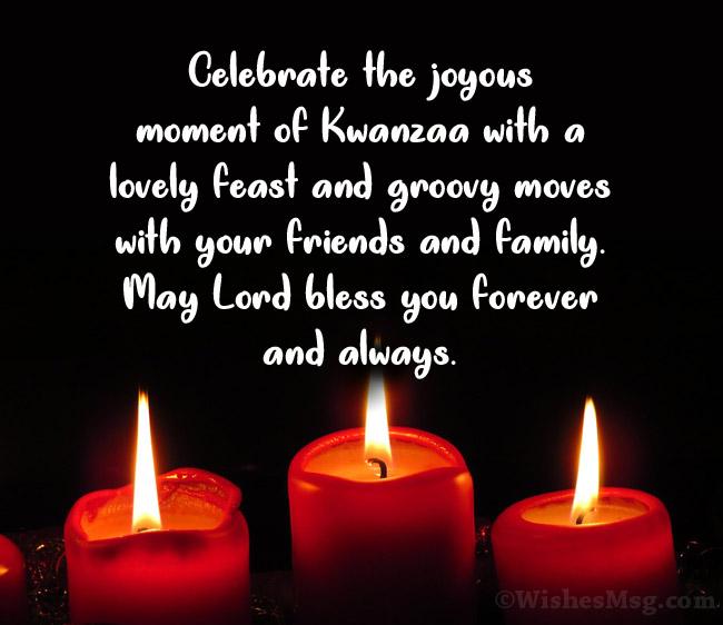 Kwanzaa map messages
