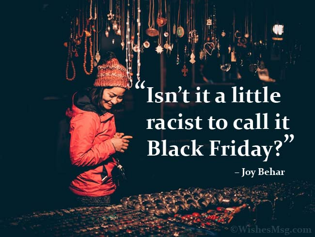 Funny quotes on black friday