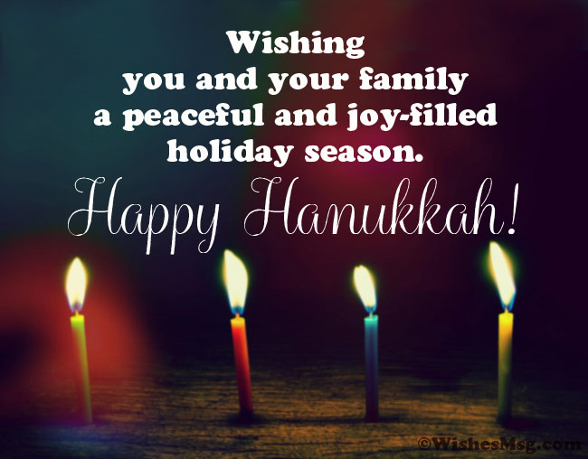 Hanukkah Greetings Messages