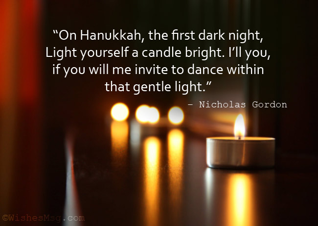 Quotes about Hanukkah
