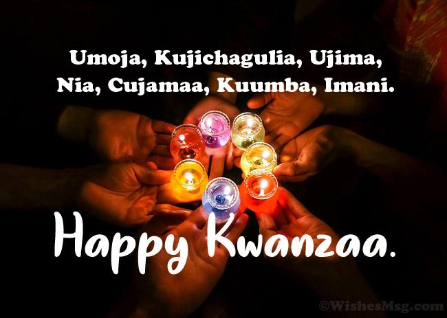 Happy Kwanzaa Messages