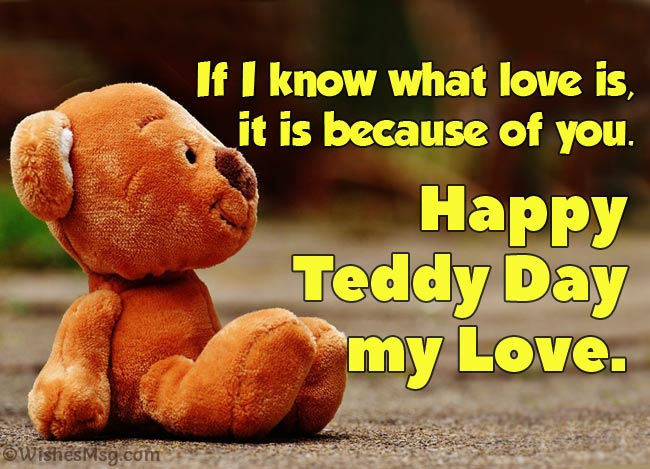 Teddy Day wishes him