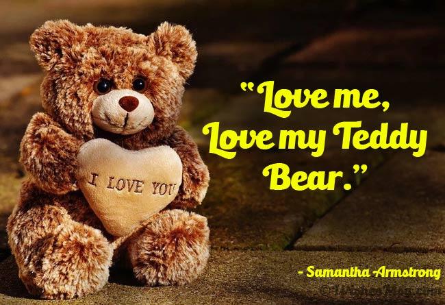 Happy Teddy Day Quotes