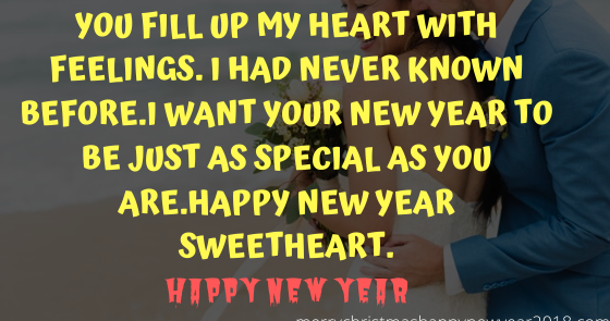 Best Heart Touching Happy New Year Wishes for Someone Special