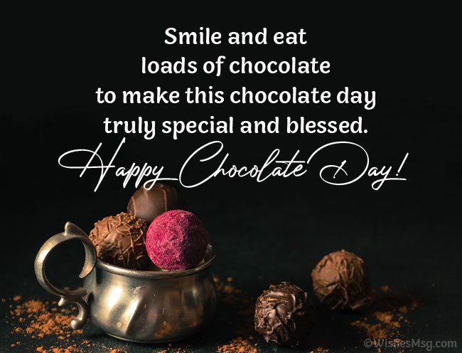 Chocolate Valentine's Day Wishes