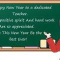 Happy New Year Teacher 2