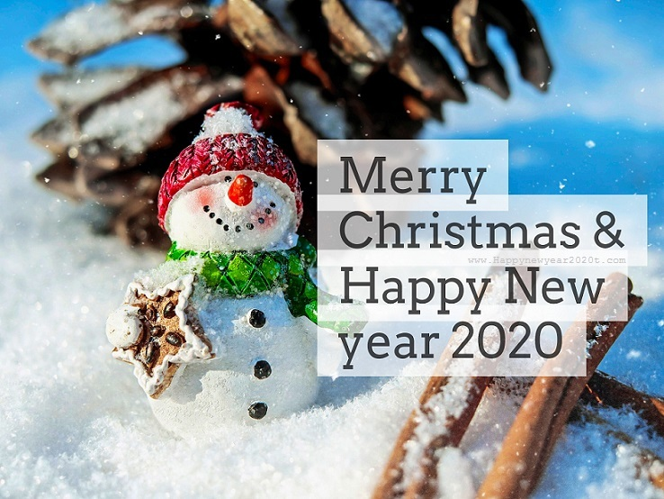 Photo of Merry Christmas & New Year 2020 Facebook Timeline Covers