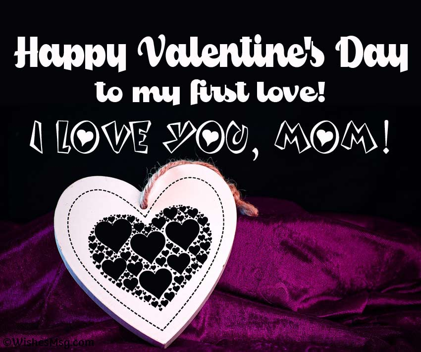 Valentine's message for mother