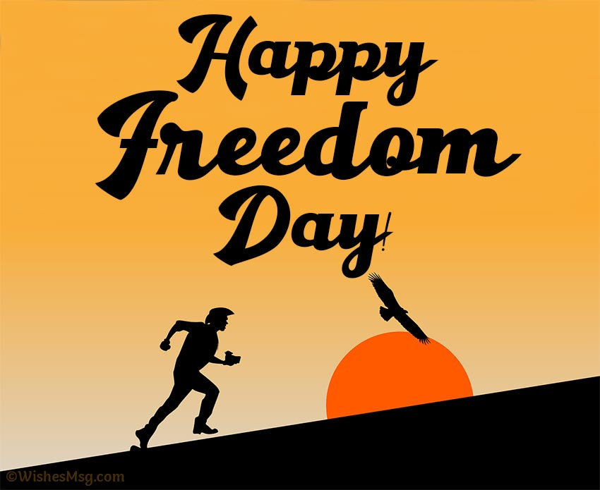 National Freedom Day messages