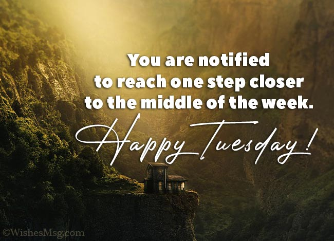 Happy Tuesday messages