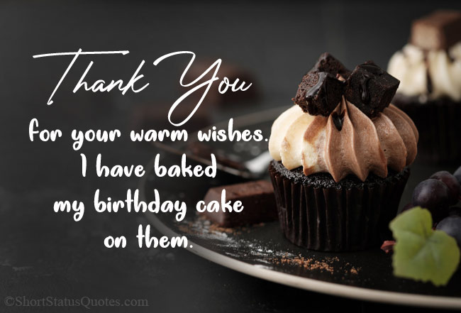 Funny Thank You Quotes for Birthday Wishes