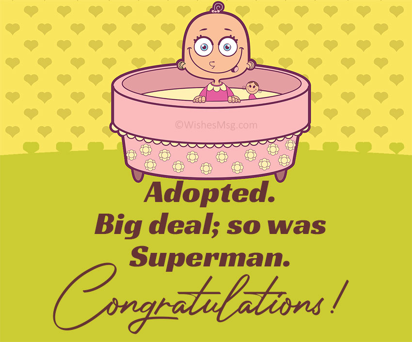 Adoption Congratulations Messages for Baby Boy